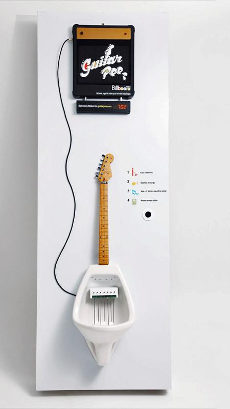 Guitar Pee Urinal
