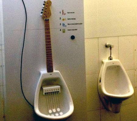 Urinal Guitar