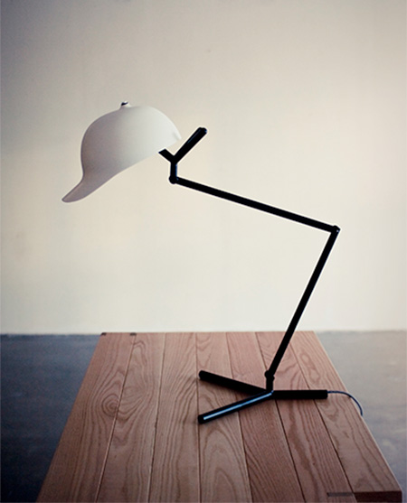 Cap Shaped Lamp