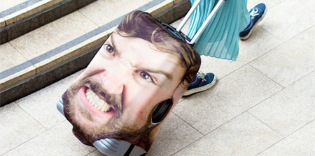 Head Suitcase