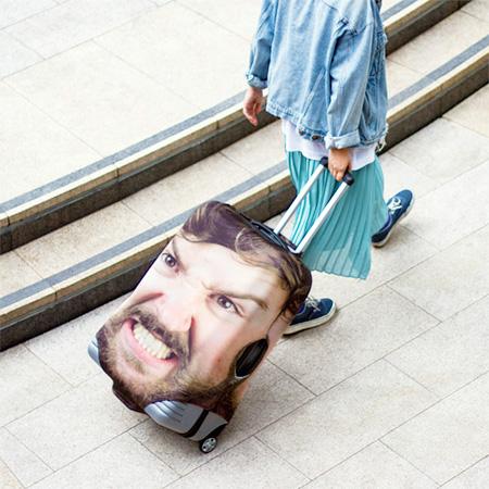Face Suitcase