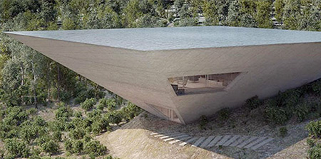 Inverted Pyramid House