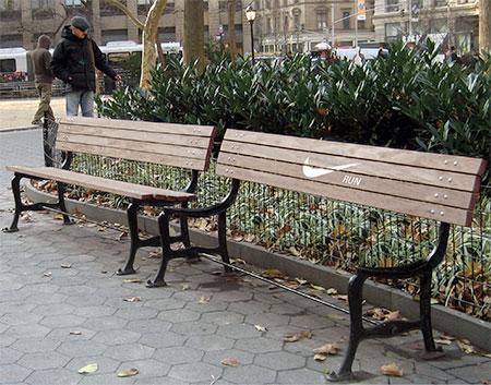 Nike Park Bench