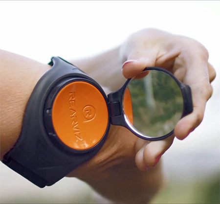 Wearable Bicycle Mirror