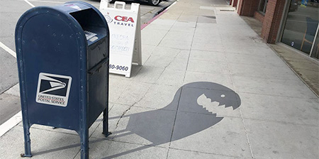Shadow Street Art