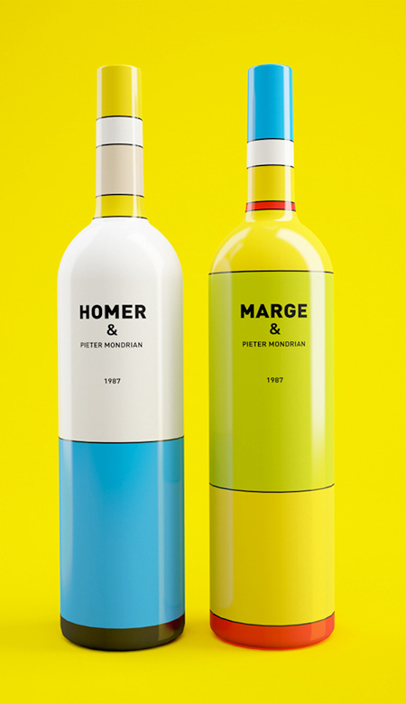 Simpsons Wine Bottles