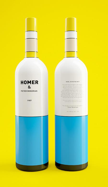 Homer Simpson Wine