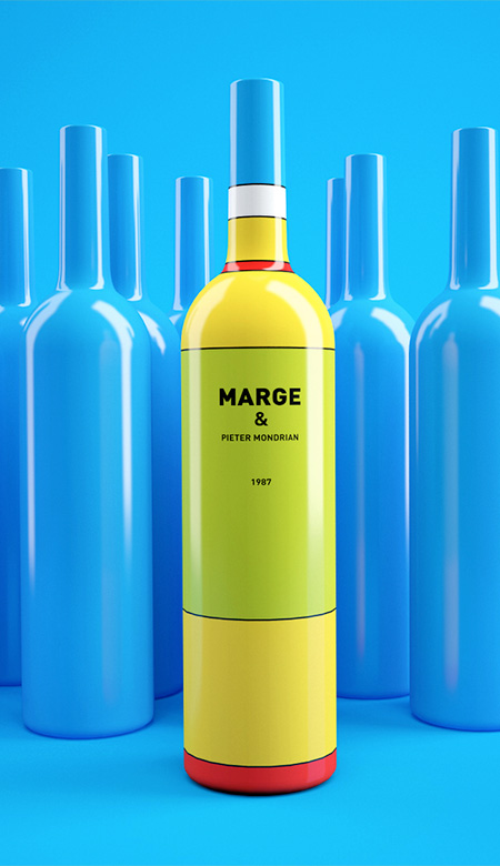 Marge Simpson Wine