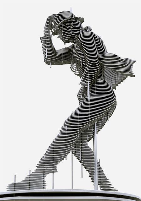 Park Chan Girl Sculptures