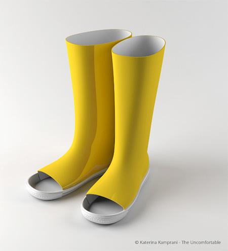The Uncomfortable Rain Boots