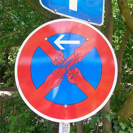 Traffic Signs Street Art