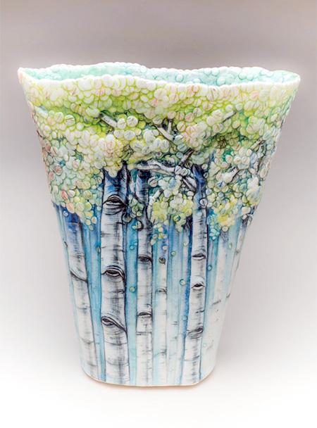 Ceramic Tree Vase