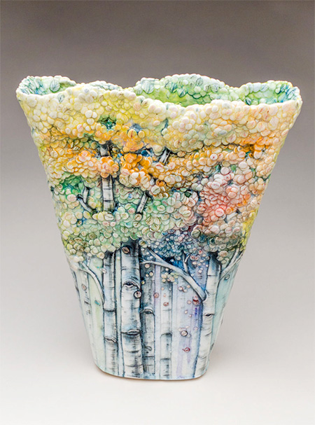 Heesoo Lee Tree Vases