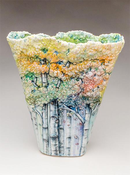 Heesoo Lee Tree Vases