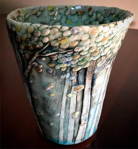 Heesoo Lee Tree Vase