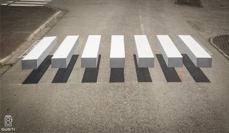 Optical Illusion Crosswalk