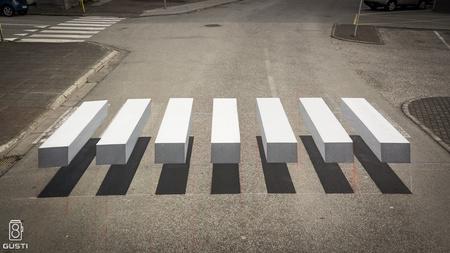 3D Crosswalk in Iceland