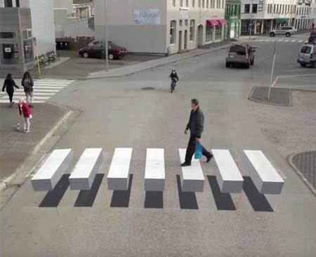 Iceland Crosswalk