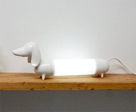 Dog Shaped Lamp