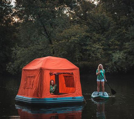 Floating Camping Tent