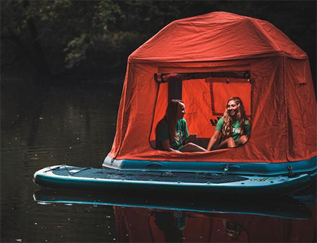 Floating Raft Tent