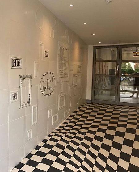 Casa Ceramica Optical Illusion Floor