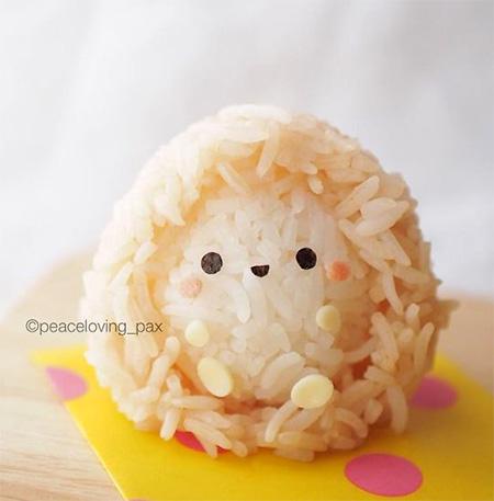Peaceloving Pax Rice Balls