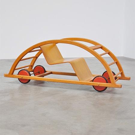 Rocking Toy Car