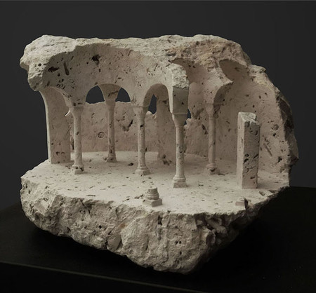 Miniature Marble Architecture
