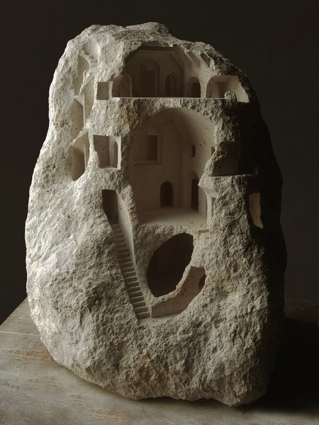 Matthew Simmonds Miniature Stone Architecture