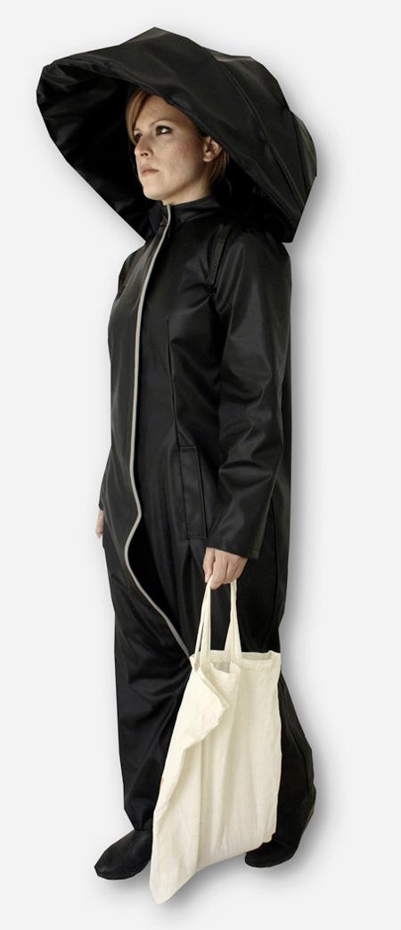 Athanasia Leivaditou Umbrella Raincoat