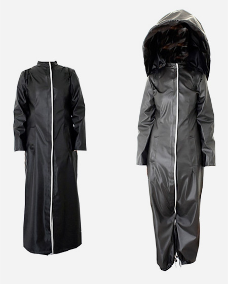 Athanasia Leivaditou Umbrella Coat