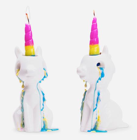 Firebox Crying Unicorn Candle