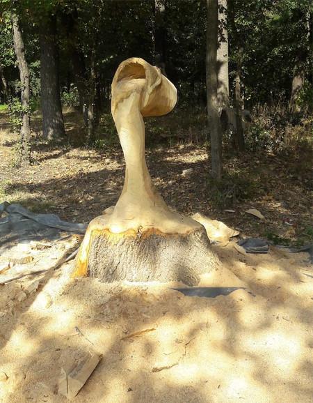 Gabi Rizea Water Bucket Sculpture