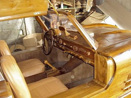 Wooden 1955 Mercedes-Benz 300SL Gullwing