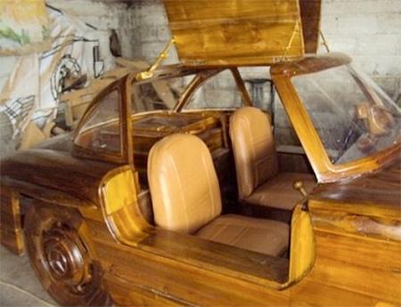 Wooden Mercedes 300SL
