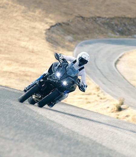 Yamaha Three Wheeled Motorcycle