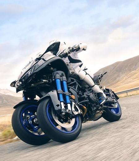 Yamaha Three Wheel Motorcycle
