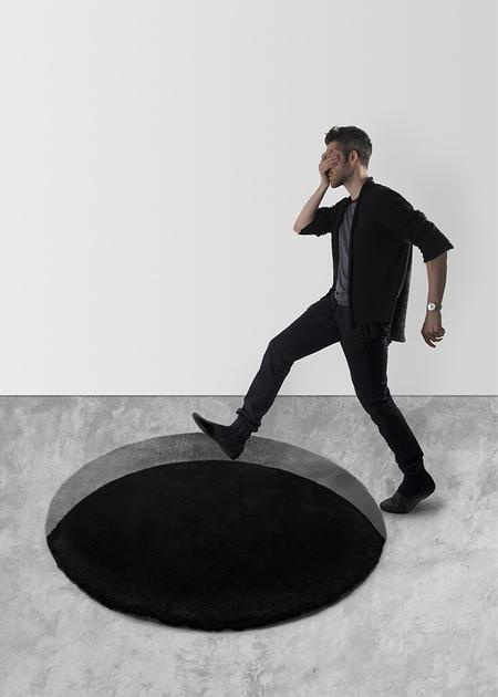 Scott Jarvie Black Hole Rug