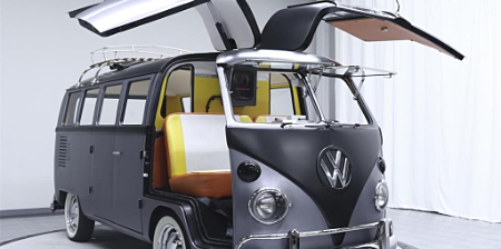 Back to the Future VW Bus