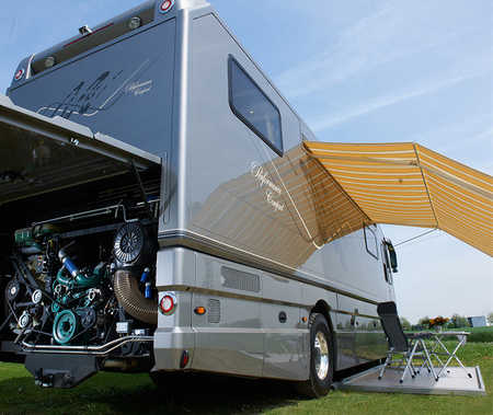 Car Garage Camper