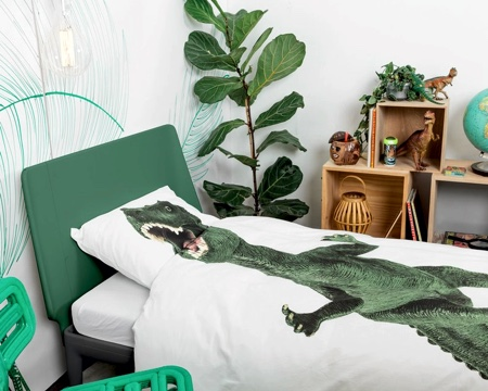 Dinosaur Rex Bed Sheets