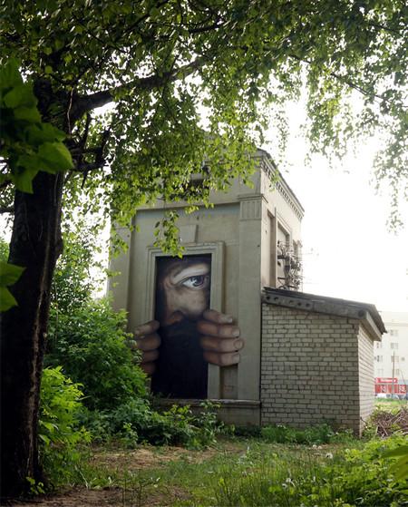 Faces Street Art
