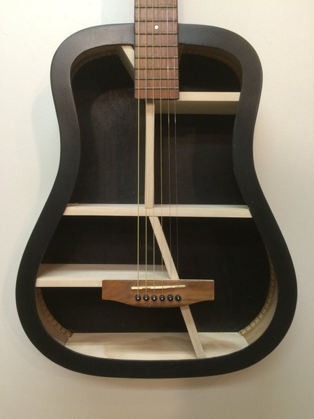 Guitar Bookshelves