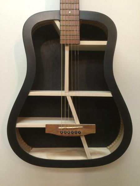 Guitar Bookshelves