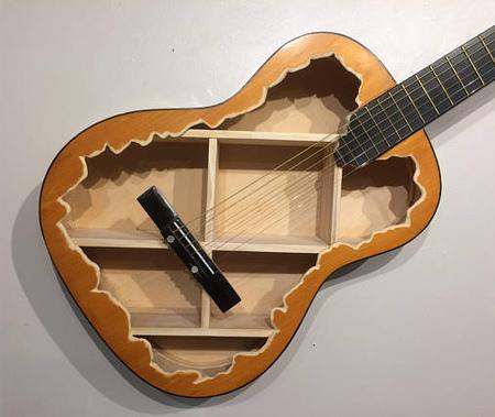 Acoustic Guitar Shelves