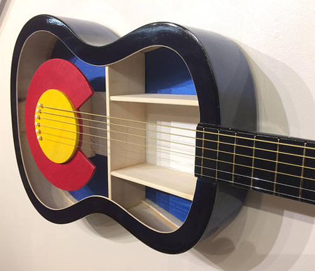 Acoustic Guitar Bookshelf
