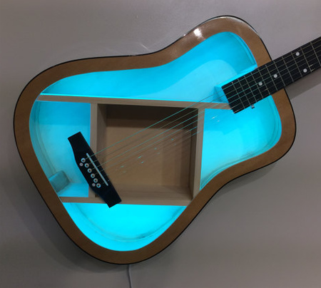 aRRtstudios Guitar Shelves