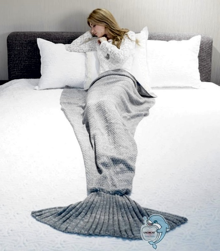 Ariel Mermaid Blanket