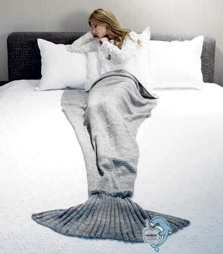 Ariel Mermaid Blanket